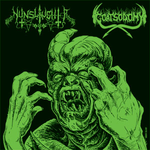Nunslaughter / Goatsodomy - Nunslaughter / Goatsodomy
