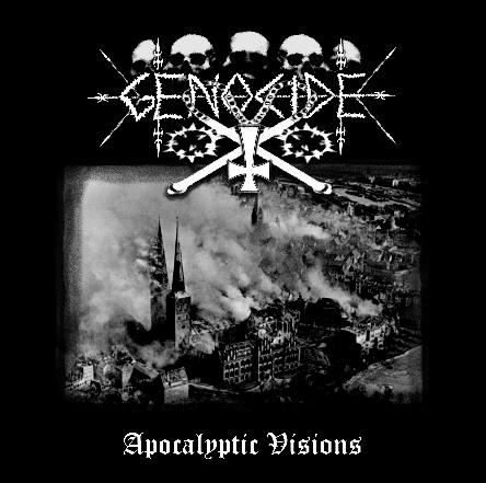 GENOCIDE : Apocalyptic Visions lp - Primitive Reaction shop