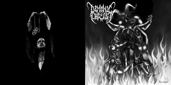 DEMONIC CHRIST / HORNA : Bound to Damnation / Siunatut Arvet