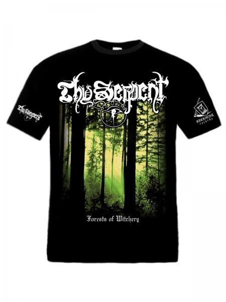 THY SERPENT : Forests of Witchery TS XL-Size