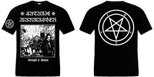 SATANIC WARMASTER : Strenght & Honour TS M-Size